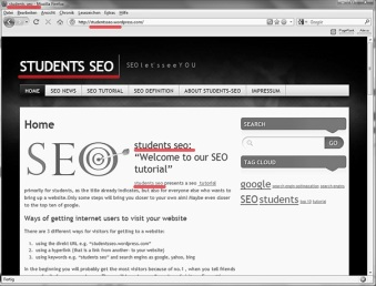 students-seo:example for keywords in title,url,text...